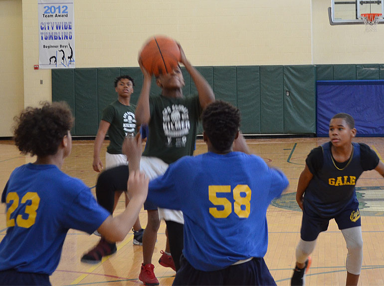 Kilmer Prevails at First Sullivan Middle School Boy's Basketball Invitational